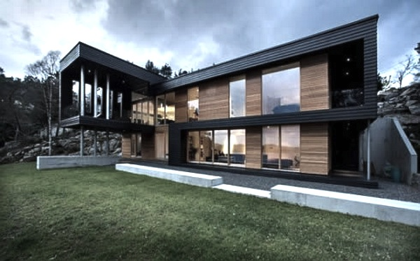 Modernist styled house vancouver