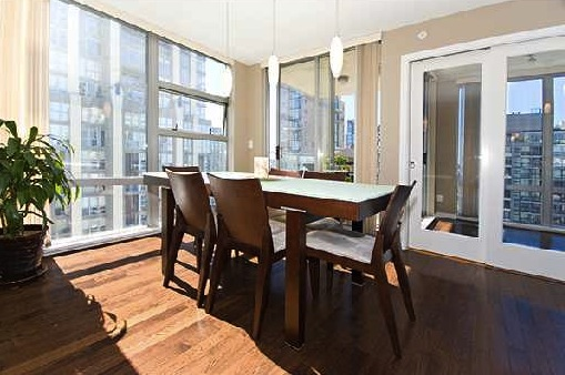 Modern Downtown Condo Eden Dining Room