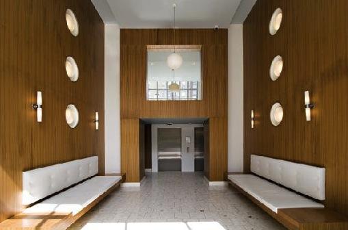 modern downtown condo eden lobby