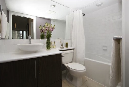 modern downtown condo masterbathroom a