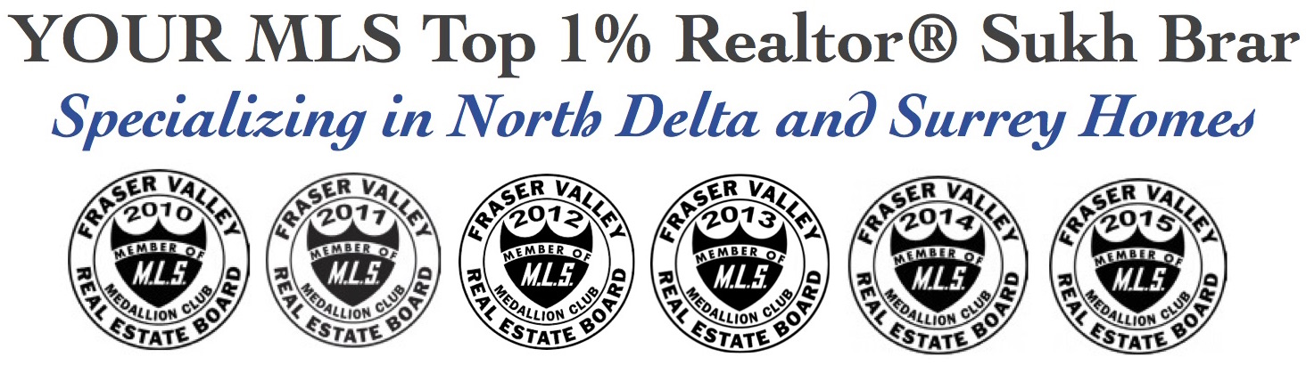 your mls top 1 realtor sukh brar in north delta and surrey