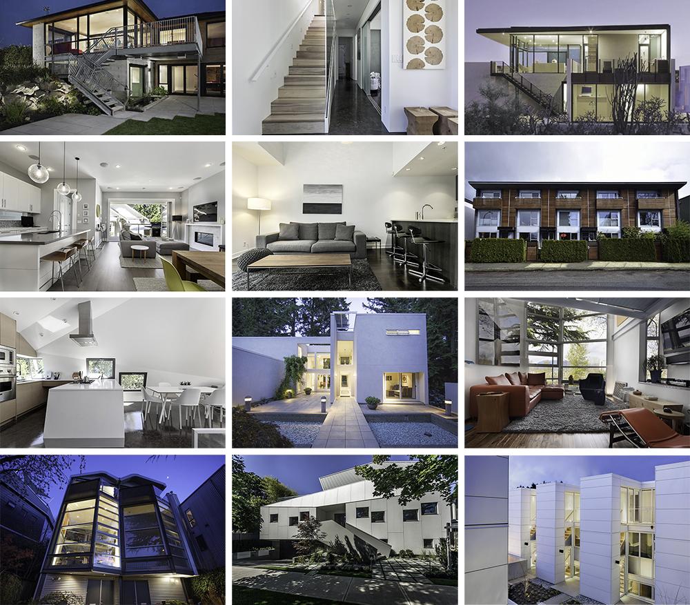 modern house grid 1000 pixels wide a