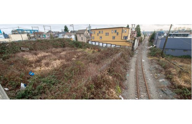 five empty lots in the 1000 block of east hastings sold for 52 million