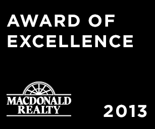 award of excellence 2013