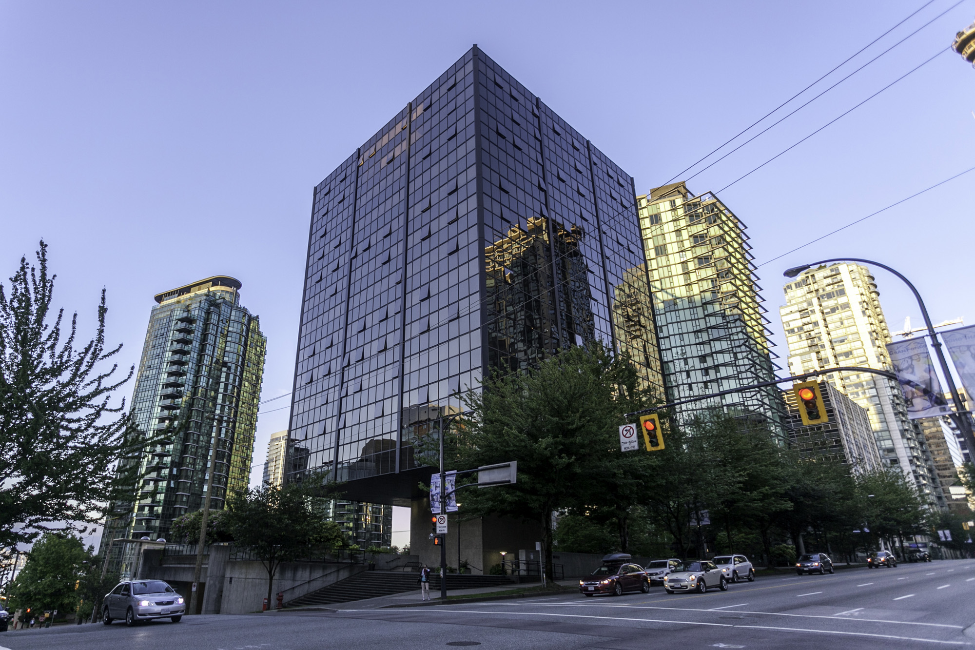 The Qube 1333 W Georiga Street Vancouver Coal Harbour