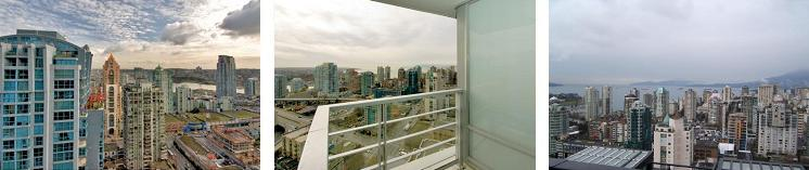 View at Elan Vancouver 1255 Seymour St.