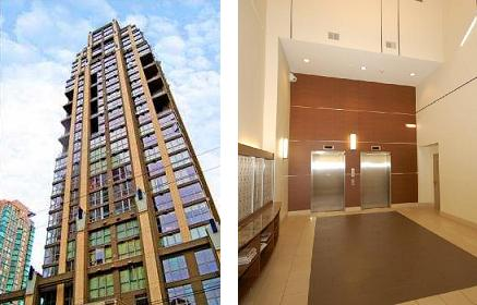Metropolis Yaletown Lofts 1238 Richards St - building webpage