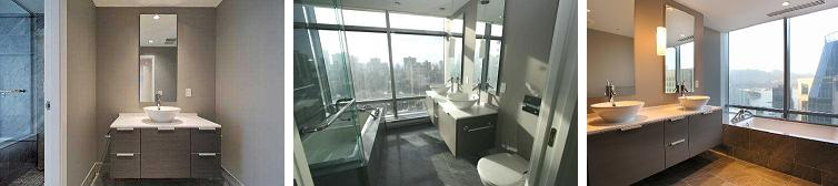 Shangri-la Vancouver bathrooms 1-3