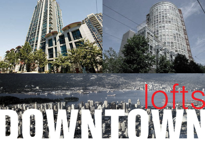 Downtown vancouver lofts logo