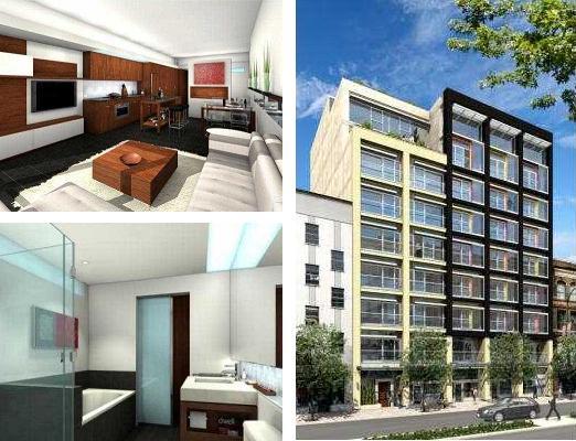 33 w pender photos building - crosstown loft building Albrighton lofts