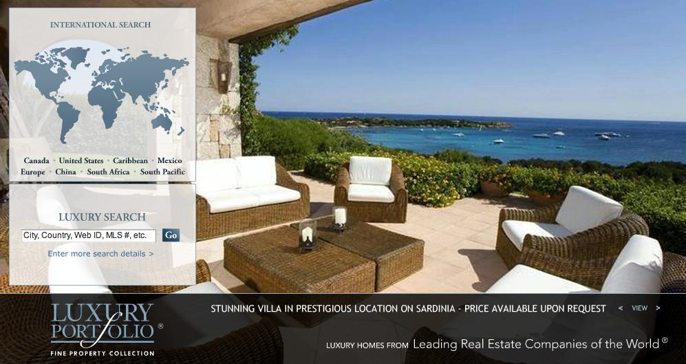 Luxury Portfolio Web Sample
