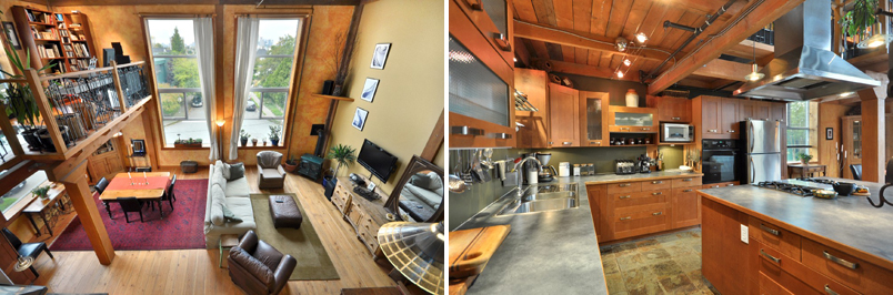 #211 1220 E Pender St - Country Style Loft