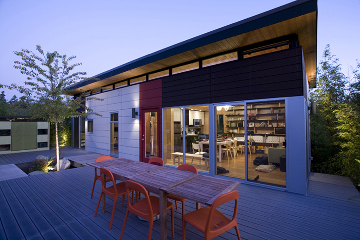 Modern Dwell Style House Vancouver