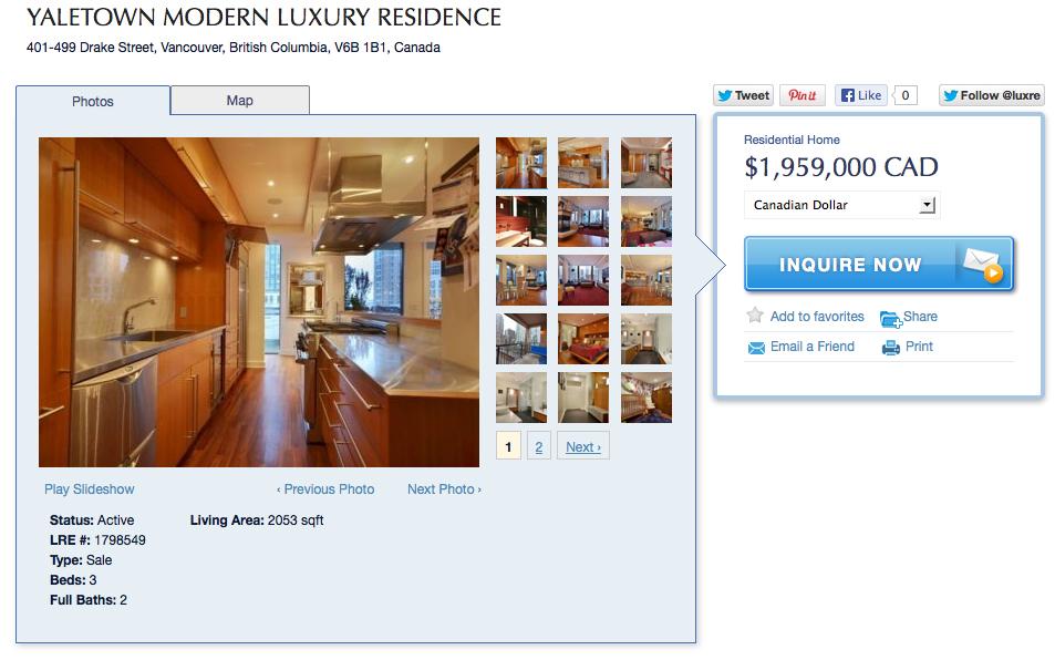 Luxury Real Estate Advert