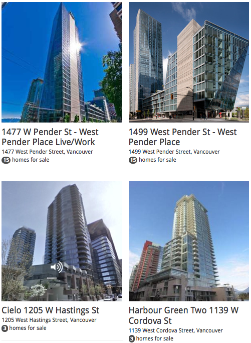 Coal Harbour Luxury Modern Condo Listings