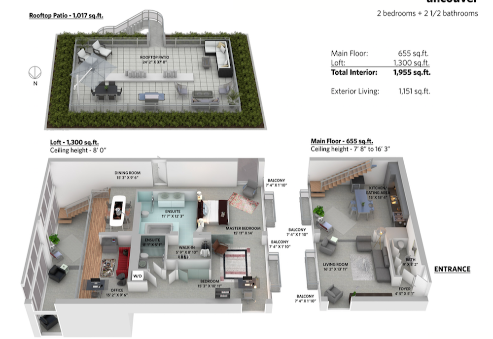 1 waterfall buildign penthouse vancouver