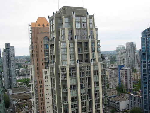 Birds eye tower view  - 1238 Richards- Metropolis