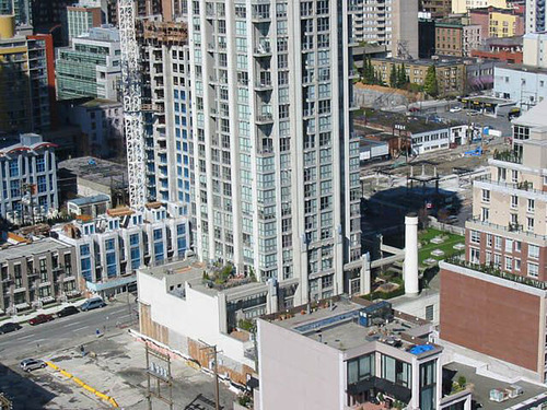 Birds eye view  - 1238 Richards- Metropolis