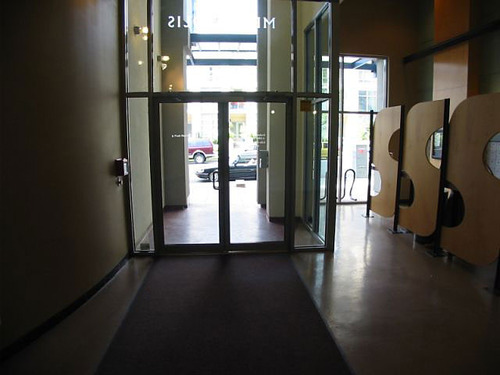Entrance - 1238 Richards- Metropolis