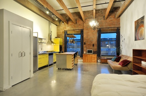 Koret lofts inside