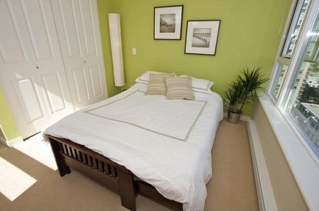 modern downtown condo miro bedroom