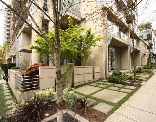 modern downtown condo miro building exterior