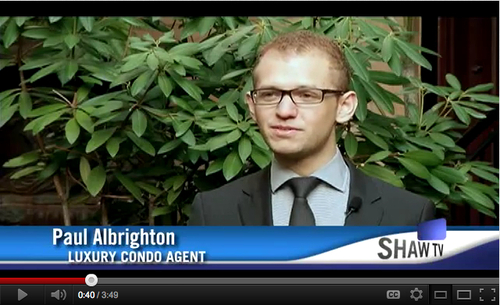 Paul Albrighton on Dream Homes Shaw Tv