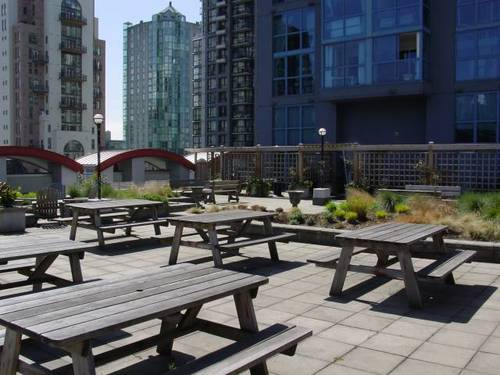 The Space -  Courtyard Picnic Tables - 1238 Seymour St