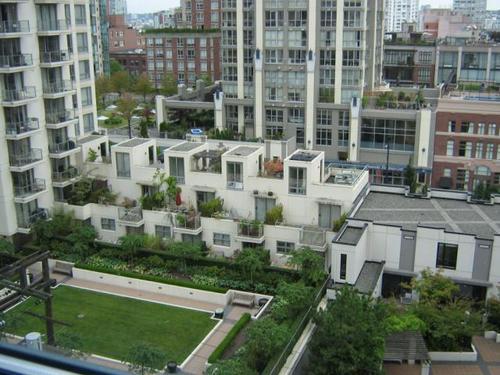 The Space - Courtyard Birds Eye View 2