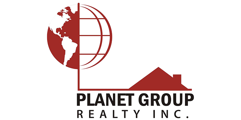 planet group realty logo
