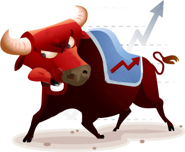 bullish markets image