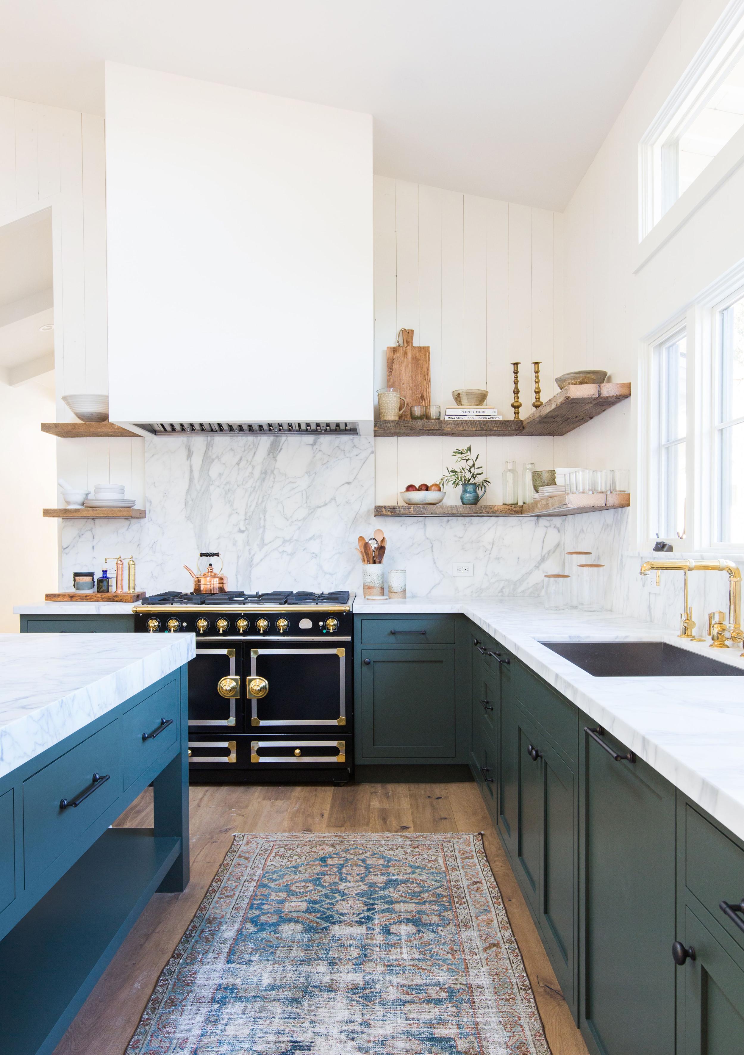 emily henderson design trends 2018 kitchen hidden hood 02