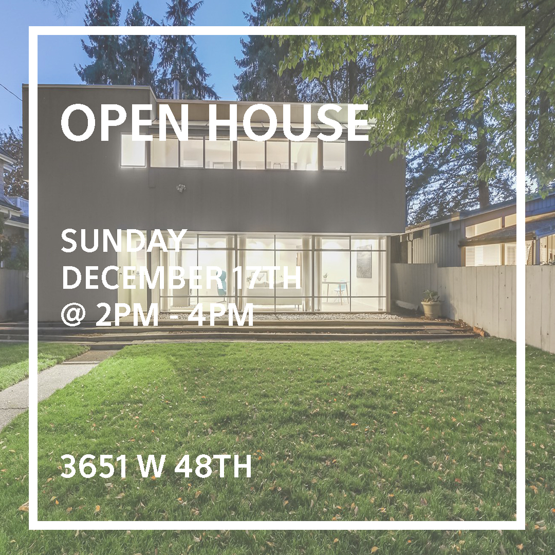 open house instagram post