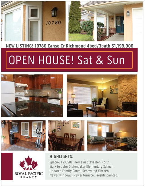 Open House Marketing Brochure