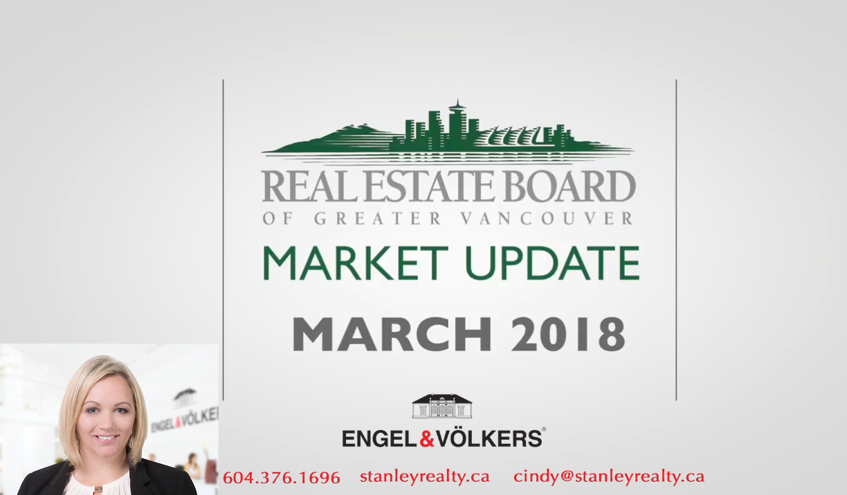 march 2018 housing market update real estate board of greater vancouver