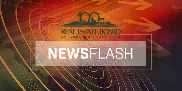 real estate board of greater vancouver market update newsflash