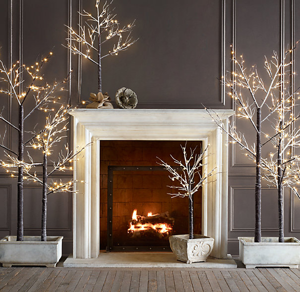 modern christmas decorated living rooms 38 1 kindesign