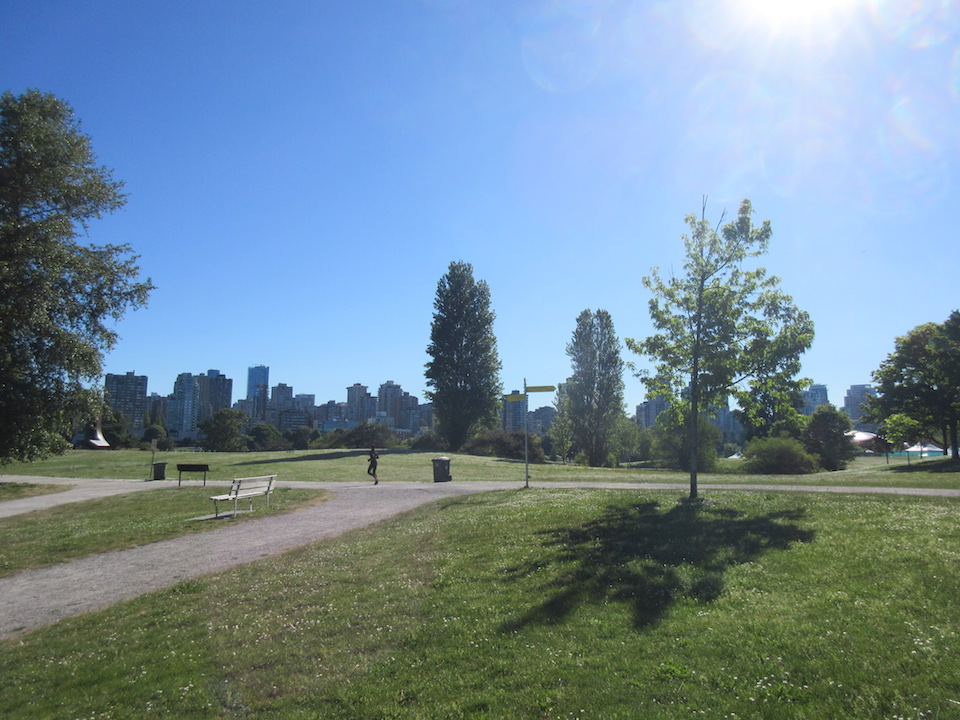 Kitsilano Urban Waterfront City Park Vancouver