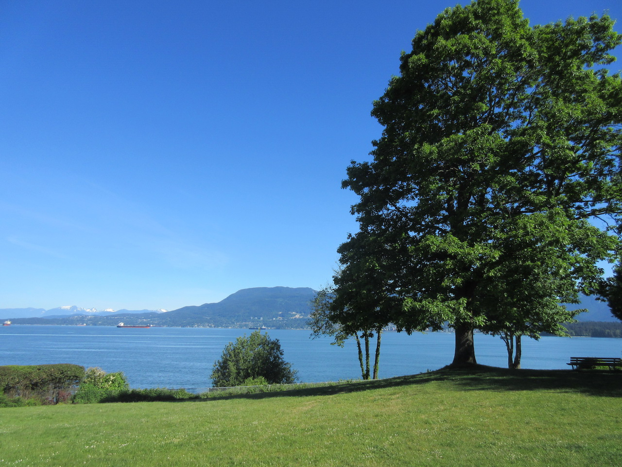 Vancouver Point Grey Urban Park Waterfront