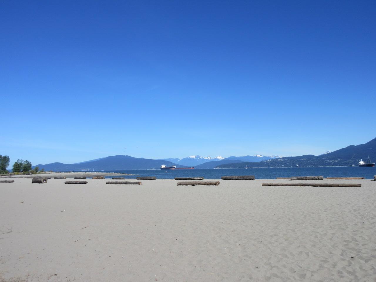 Vancouver City Beach Point Grey and Kitsilano