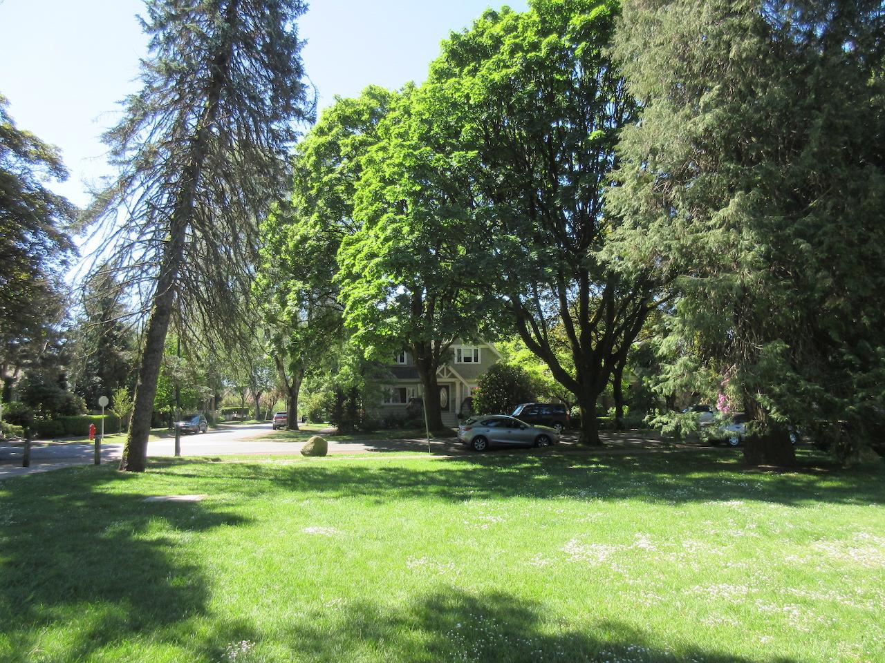 Vancouver Dunbar UBC Urban City Park and Houses