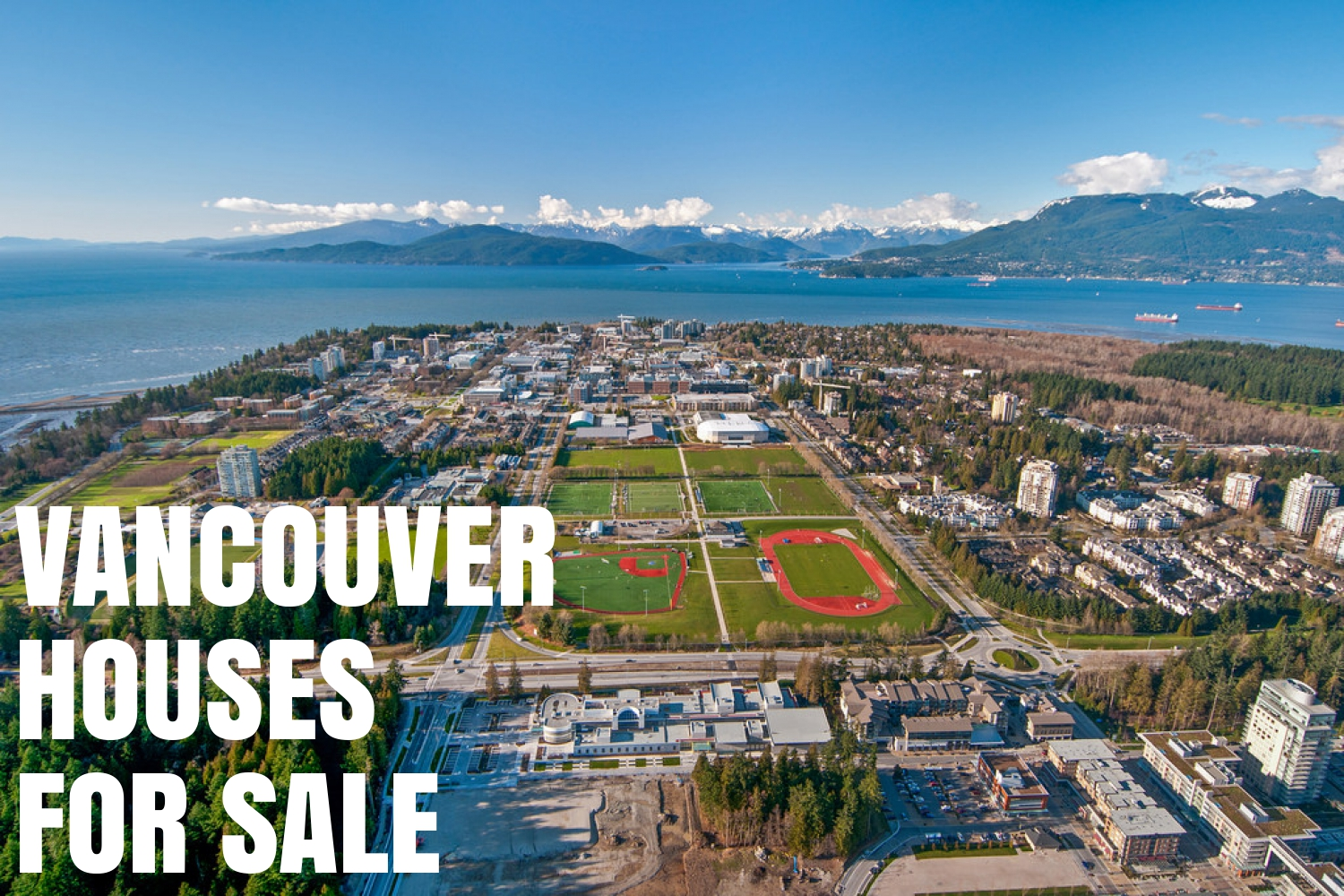 vancouver houses for sale aerial view
