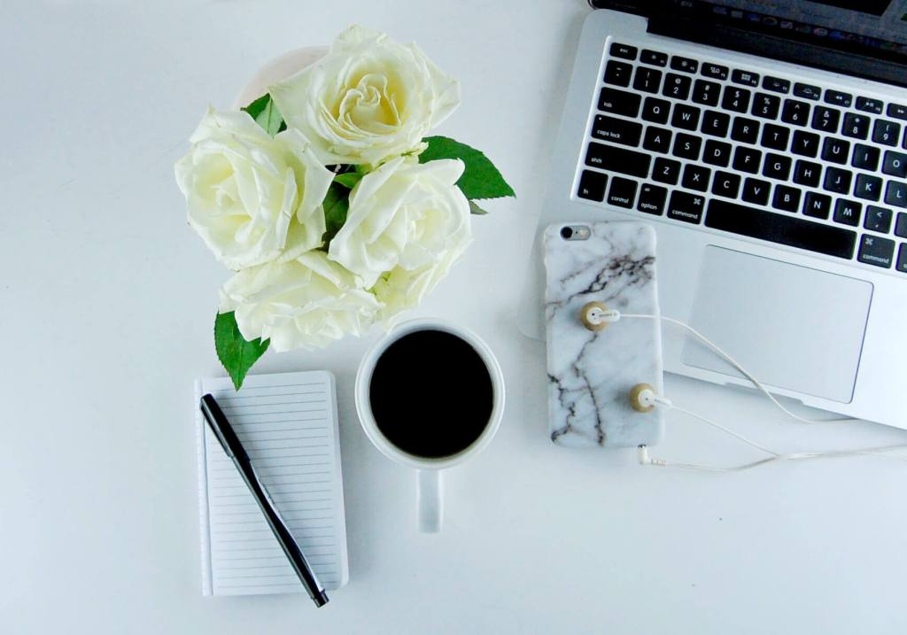 desk flowers flatlay 1 1 b