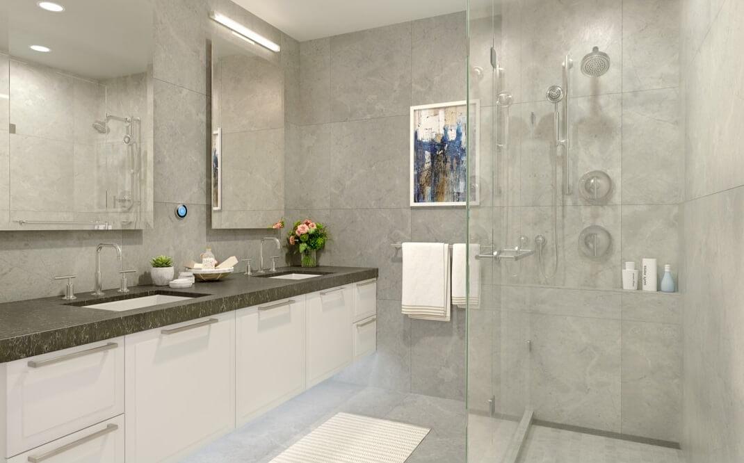 aster bathroom