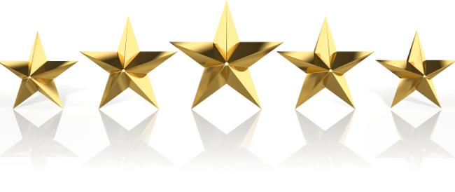 stars client testimonials