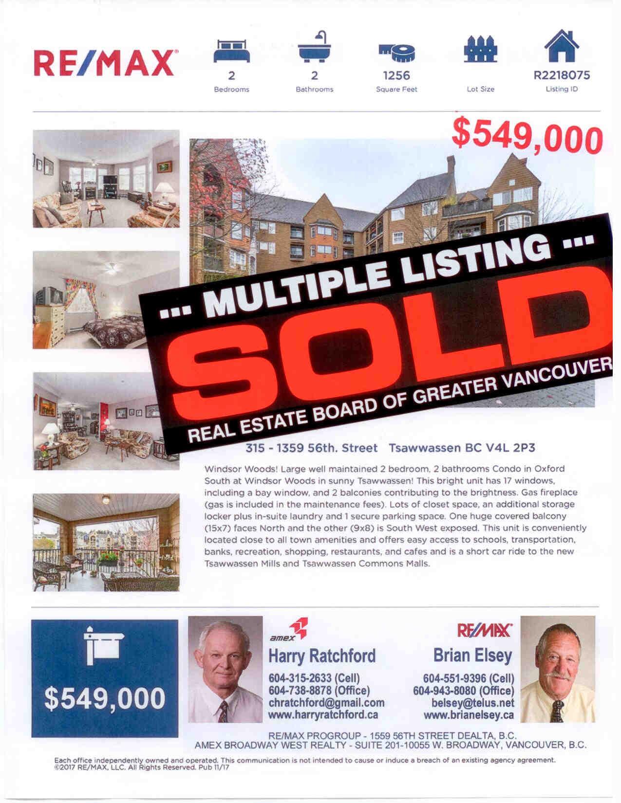 315   1359 56 street sold