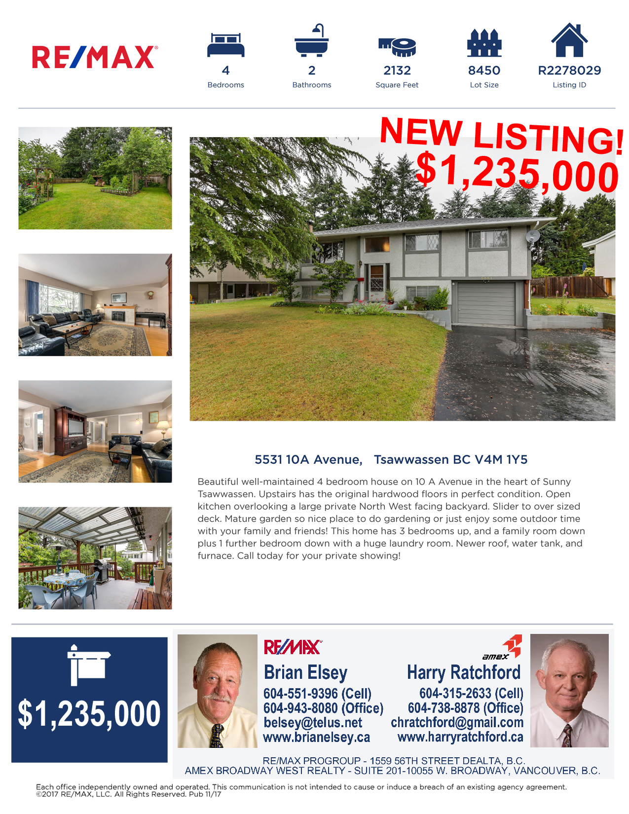 5331 10 a avenue  tsawwassen  bc v4m 1y5 2up new listing revised