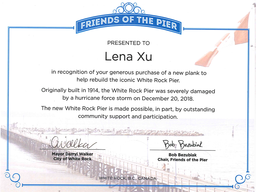 friends of the pier