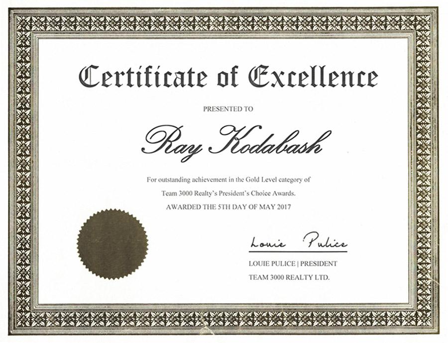 ray kodabash award 3000