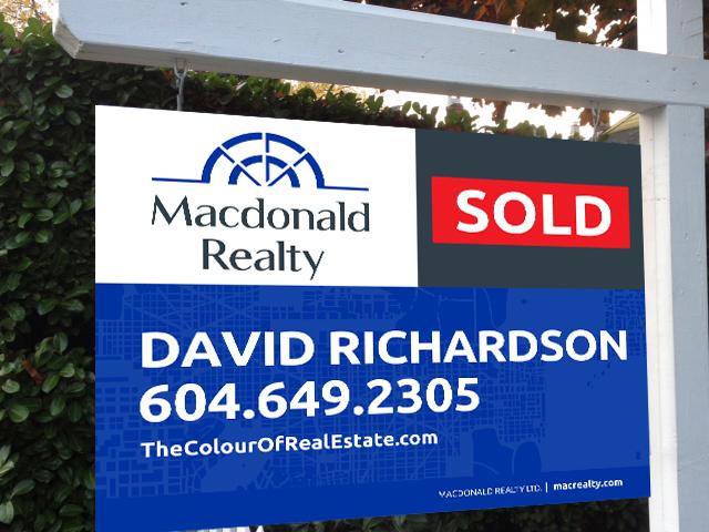 richardson sold sign